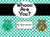Who Are You? Editable Name Badges and Desk Plates