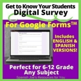 Who Are You? English & Spanish Distance Learning Survey -