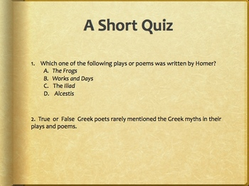 Who Are the Poets and Playwrights?