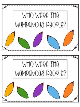 Who Are the Wampanoag?