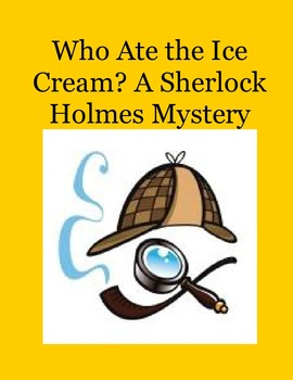 Solve the Sherlock Holmes Mystery in Microsoft Word - The Missing Ice Cream