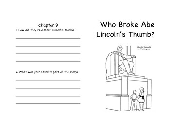 Who Broke Lincoln's Thumb? Comprehension