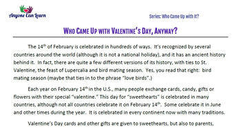 Who Came Up with Valentine's Day, Anyway?