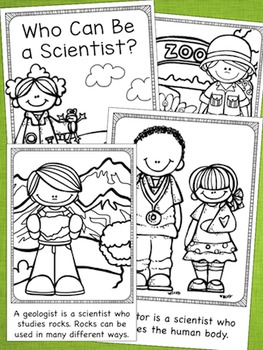 Who Can Be a Scientist?  Emergent Reader - 2 Levels Included!