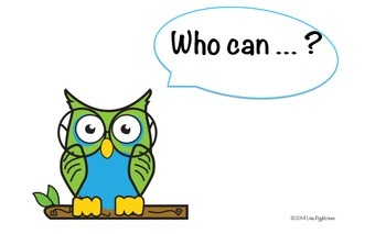Who Can ... ?  Grade 2 ELA I Can Statements