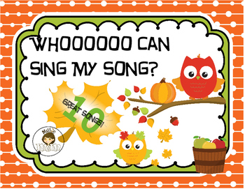 Who Can Sing My Song? - Singing Activity