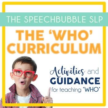 Who Curriculum