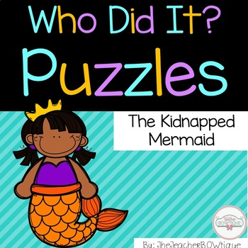 Who Did It: The Kidnapped Mermaid