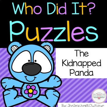 Who Did It: The Kidnapped Panda