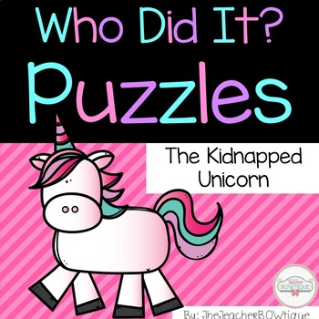 Who Did It: The Kidnapped Unicorn