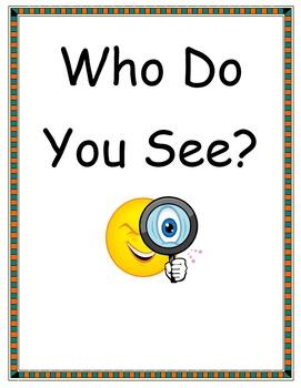Who Do You See?-Editable (Brown Bear...)