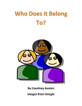 Who Does It Belong To?- Book