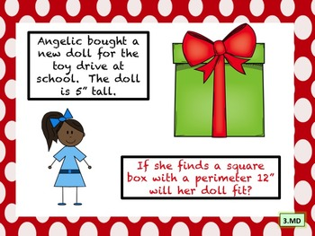 Who Does That @ Christmas (exploring empathy):  Common Core 3rd Grade Math