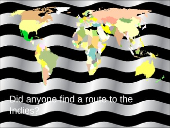 Who Found the Route to the Indies?
