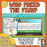 Who Freed the Fish?  A Field Day End of the Year MYSTERY R