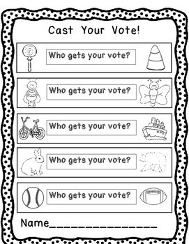 Who Gets Your Vote?  Vote and Tally Activity