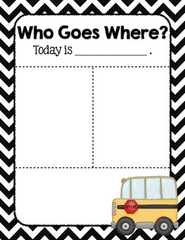 Who Goes Where? {Sign}