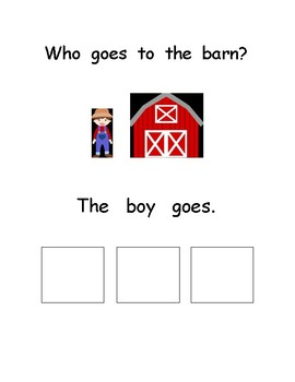 Who Goes to the Barn? Special Education Unit