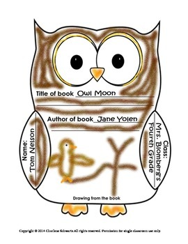 Who Has A Good Book? Owl Report