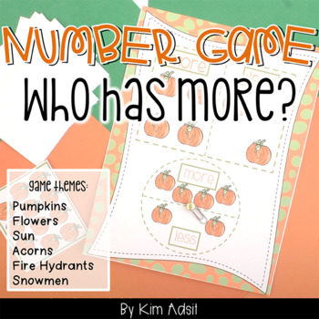 Number Comparision Game: Who Has More?