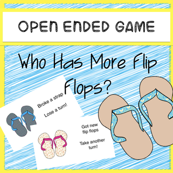 Open Ended Game Who Has More Flip-Flops?