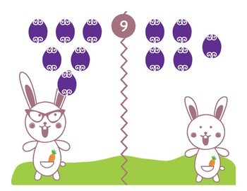 Who Has More: Kindergarten Subitizing and Comparing Numbers, PART 2