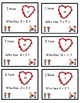 Valentine's Day Fun: Who Has My Heart? (Addition Facts Sum