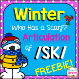 Who Has a Scarf? An /sk/ Winter Articulation Freebie