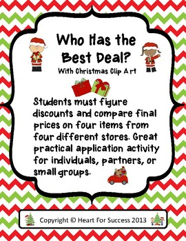 Who Has the Best Deal? Christmas Version