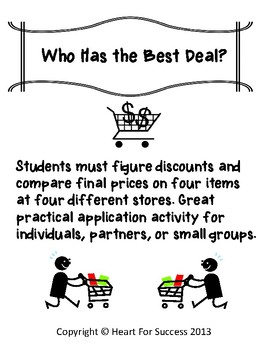 Who Has the Best Deal?