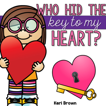 Who Hid the Key to my Heart - Number Rec, CVC Words, and Alpha Cards