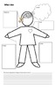 Who I Am - Beginning of Year Getting To Know You Worksheet
