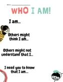 Who I Am Mini Poster