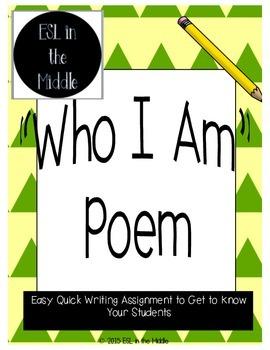 Who I Am Poem