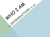"""Who I Am"" introduction/getting to know you activity print"