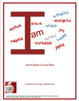 Adjectives and Me Lesson Plan