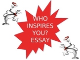 Who Inspires You? Writing Project