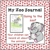 Zoo Animals - A Writing Journal