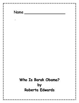 Who Is Barak Obama? Comprehension Packet