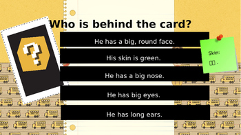 Who Is Behind The Card?