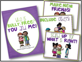 Who Is Bully-Free? You and Me!