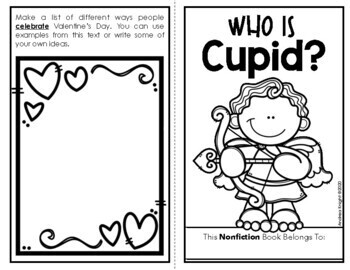 Who Is Cupid? (A Valentine's Day Book for Primary Children)