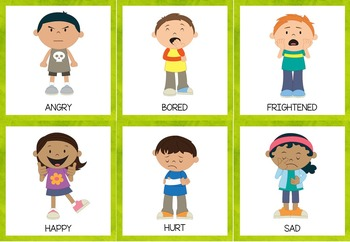 {Freebie}Emotions-Games and Activities for ESL/EFL Learners and Emergent Readers