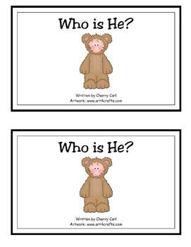 Who Is He? Halloween Guided Reading Book