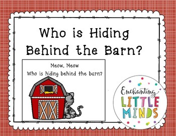 Who Is Hiding Behind The Barn?