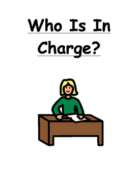 Who Is In Charge Social Story