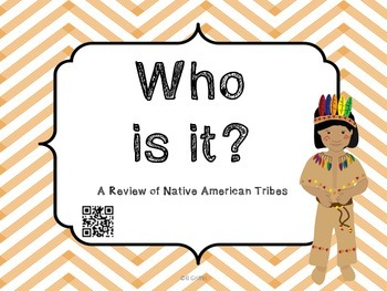 Who Is It? Native Americans with QR Codes