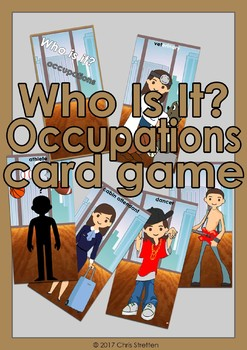 Who Is It? - Occupations card game