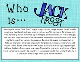 Who Is Jack Frost? Winter Passage and Visualization Practice