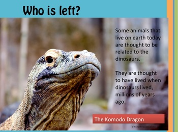 Who Is Left? A Science unit about Dinosaurs and Endangered
